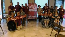 Il Club Mai Sola e la Salernitana, tra sport e soliedarità