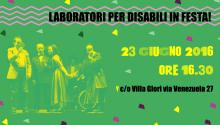 Laboratori per disabili in festa!