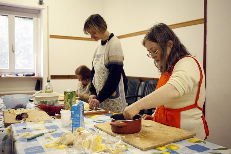 Cooperativa Oltre - Laboratorio per disabili: cucina